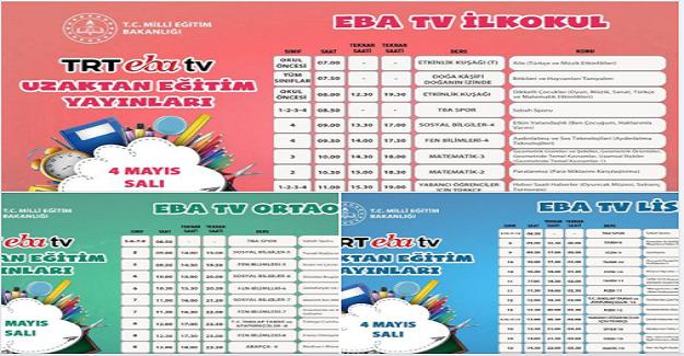 TRT EBA TV Uzaktan Eğitim