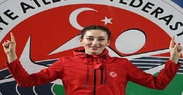 Balkan Büyükler Atletizm Şampiyonası'nda; Üç adım atlama branşında Tuğba Danışmaz Rekor Kırdı