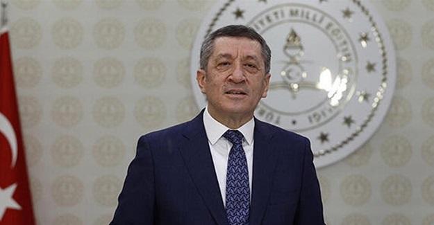 Milli Eğitim Bakanı Ziya Selçuk'tan Mesaj