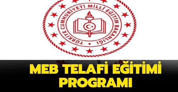 Milli Eğitim Bakanlığı Telafi Eğitimi Programını Yayınladı