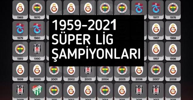 Süper Lig şampiyonluğu kazanan teknik direktörler listesi