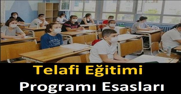 Telafi Eğitimi Programı Esasları Belirlendi