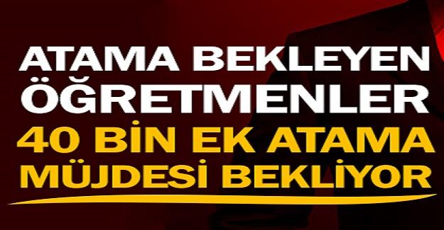 Ek Atama Bekleyen Öğretmenler, Bayram Müjdesi Bekliyor