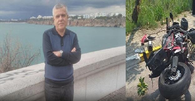 Motosikletin Çarptığı Öğretmen Hayatını Kaybetti
