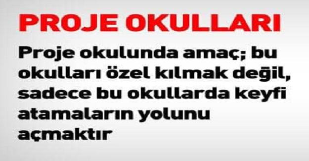 PROJE OKULLARI KİMİN PROJESİ!!!