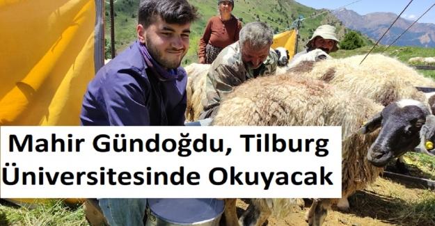 Tunceli'li Çoban Mahir Gündoğdu, Tilburg Üniversitesinde Okuyacak