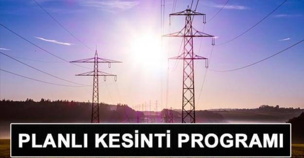 Ankara'da 2 Ağustos elektrik kesintisi! Elektrikler ne zaman gelecek?