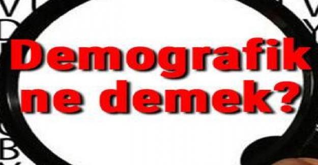 Demografi Terimi Nedir? Demografi Terimi Anlamı?