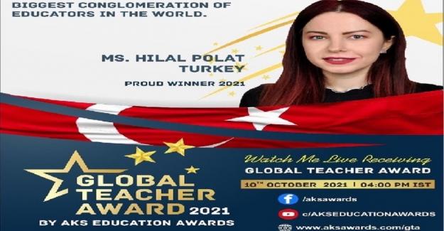 Hilal Öğretmenin Uluslararası Büyük Başarısı