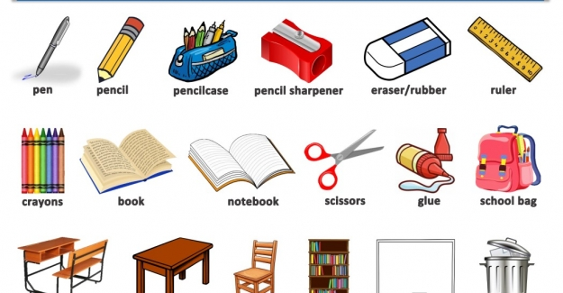 İngilizce Sınıf Nesneleri (Classroom Objects)