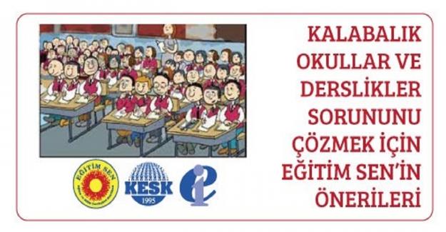 Kalabalık Okullar ve Derslik Sorununa Çözüm Önerisi