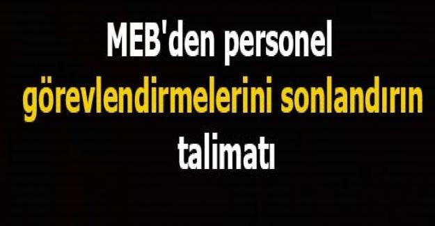 MEB'den Tüm Okullara Uyarı