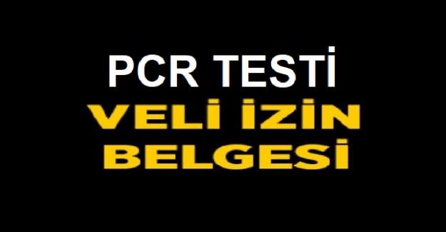 Pcr Testi Veli İzin Dilekçesi