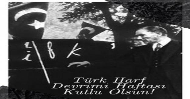 Türk Harf Devrimi Haftası Ne Zaman?