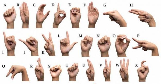 Türk işaret dili parmak alfabesini nasıl öğrenebilirim?