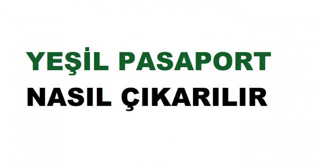 Yeşil Pasaport İçin Gerekli Belgeler Nelerdir?