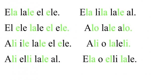 1. Sınıf Tüm Sesler ile Hece, Kelime ve Cümleler