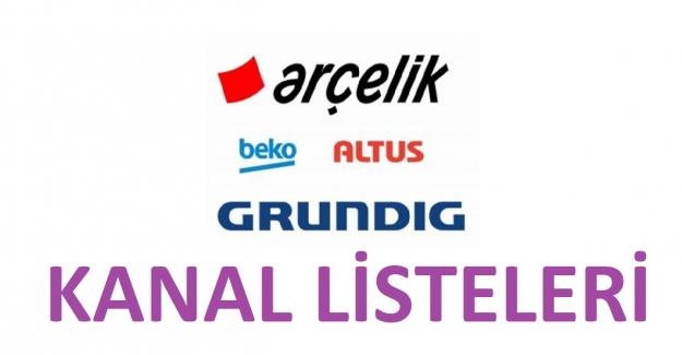 Arçelik, Beko Grundig Tv Hazır Kanal Listesi 2021
