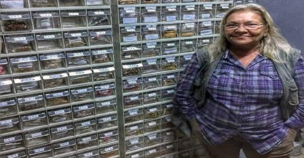 Nardane Öğretmen Tohum Bankasında 1200 Çeşit Tohumu, Muhafaza Ediyor
