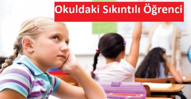 Okuldaki Sıkıntılı Öğrenci