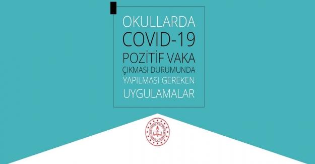 Okullarda Kovid-19 Pozitif Vaka Çıkması Durumunda Yapılması Gereken Uygulamalar Rehberi
