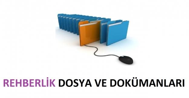 Sınıf Rehberlik Dosya ve Dokümanları 2021-2022