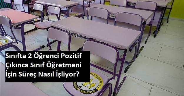 Sınıfta 2 Öğrenci Pozitif Çıkınca, Sınıf Öğretmeni İçin Süreç Nasıl İşliyor?