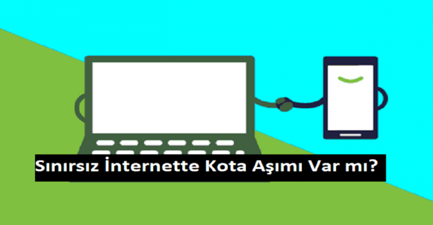 Sınırsız İnternette Kota Aşımı Var mı?