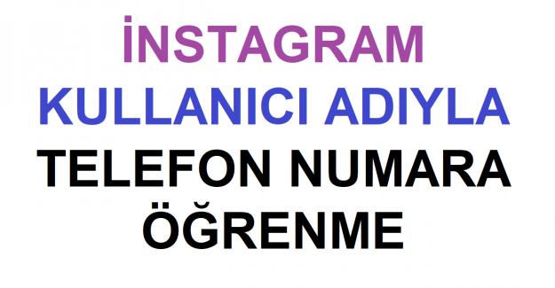 Telefon numarasından Instagram hesabı bulma işlemi nasıl yapılır?