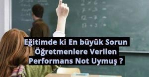 bEğitimde ki En büyük Sorun Öğretmenlere.../b