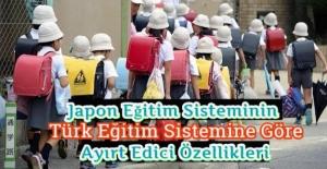 Japon Eğitim Sisteminin Türk Eğitim Sistemine Göre Ayırt Edici Özellikleri