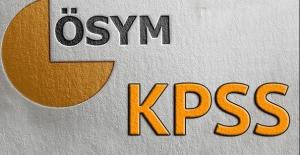 2018 KPSS Sınav Ve Başvuru Tarihleri