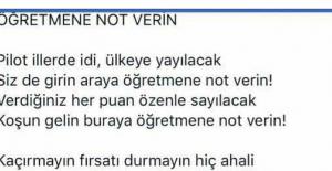 Öğretmene Not Verin Şiiri Sosyal Medyayı...