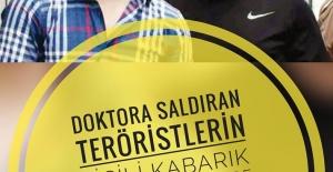 Doktora Saldırıp Tekme Atan Teröristin Sicili Bayağı Kabarık Çıktı. Daha Önce de Öğretmene Ve Polise Saldırmışlar