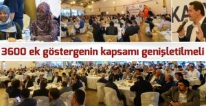 Eğitim Bir Sen genel Başkanı Ali Yalçın: 3600 ek göstergenin kapsamı genişletilmeli