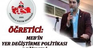 MEB'İN YER DEĞİŞTİRME POLİTİKASI DEĞİŞMELİ