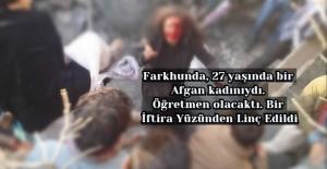 Farkhunda, 27 yaşında...