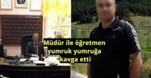Okulda Skandal: Müdür ile öğretmen yumruk yumruğa kavga etti