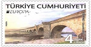 Tarihi Uzunköprü 'En İyi Avrupa Pulu' yarışmasında