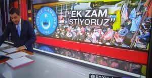 Türk Eğitim Sen'in Ek Zam Talebi Ulusal Basında Yer Aldı