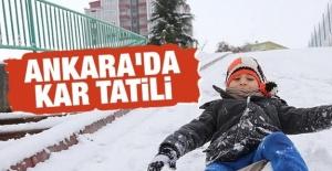 14 Aralık Cuma Günü Ankara'da Okullar Tatil