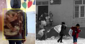 Öğrencinin Battaniye Çantayla Okula...