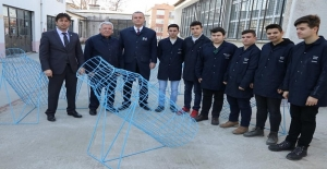 Edirne Mesleki ve Teknik Anadolu Lisesi Öğrencilerimizden Çevreye Duyarlı Doğa Dostu Proje.