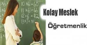 Öğretmenlik mesleğini Türkiye'nin en kolay 10 mesleği arasına koyan bu videoyu kınıyoruz !