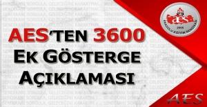 Anadolu Eğitim Sendikasından 3600 Ek Gösterge Açıklaması