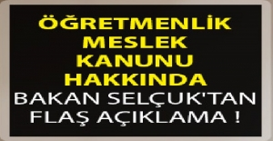 Bakan Ziya Selçuk Öğretmenlik Meslek...