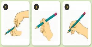 Çocuğunuzun kalem tutma şeklinin doğru olabilmesi icin yapılabilecek etkinlikler :