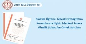 Sınavla Öğrenci Alacak Ortaöğretim...