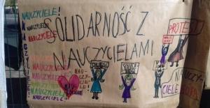 Polonya'da Öğretmenler Grevde