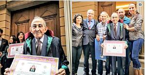 77 Yaşında Hukuk Fakültesinden Mezun Olup Hayallerine Kavuşan Namık Amca İle Tanışın